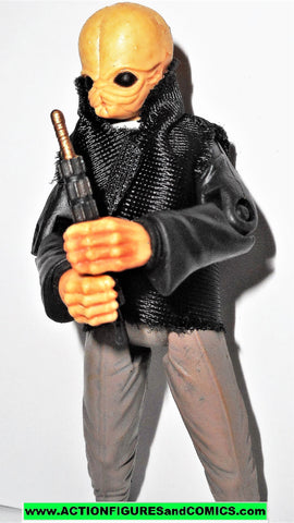 star wars action figures Cantina Band Member ICKABEL G'ONT saga 2006 2007