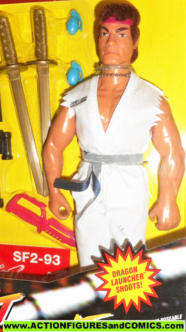 Gi joe Street Fighter II RYU 12 inch 1993 video game action figures moc mib