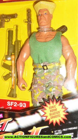 Gi joe Street Fighter II GUILE 12 inch 1993 video game action figures moc mib