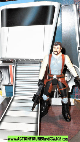 star wars action figures KYLE KATARN 1998 Imperial shuttle diarama