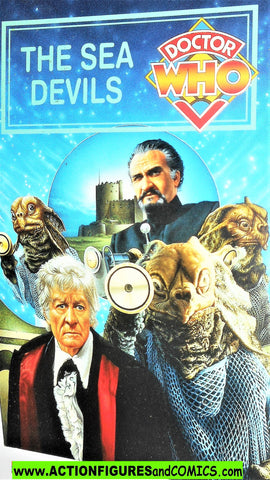doctor who Collector Card #3 The SEA DEVILS 1995 BBC video exclusive post
