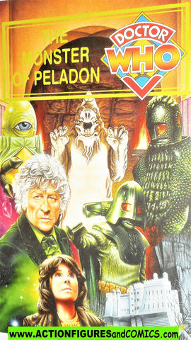 doctor who Collector Card #9 The MONSTER of PELADON 1995 BBC video exclusive post