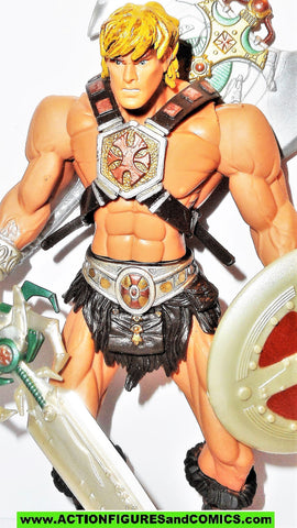 masters of the universe HE-MAN ORIGINAL 2002 series 1 200X figure mattel