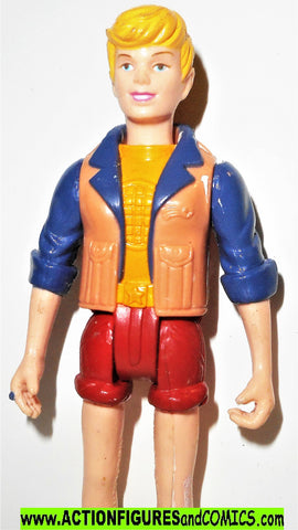 Captain Planet LITKA tan yellow jacket 1991 Tiger toys cartoon fig