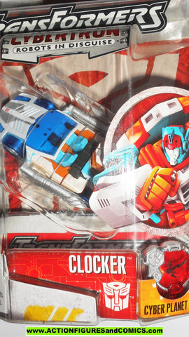 Transformers Cybertron CLOCKER 2006 action figures hasbro moc