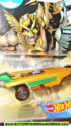 DC Hotwheels HAWKMAN character cars vehicle hot wheels matchbox