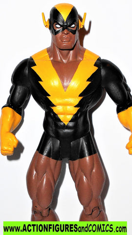 dc direct BLACK VULCAN CUSTOM super friends complete collectibles 2003