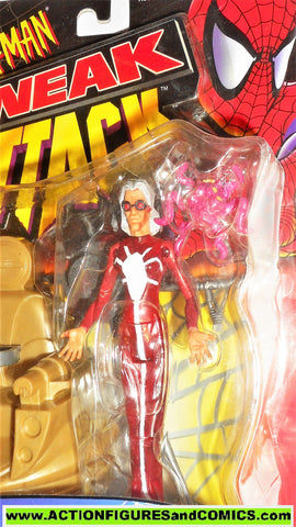 Spider-man the Animated series MADAME WEB sneak attack 1997 moc
