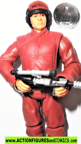 star wars action figures NABOO SOLDIER trooper RED 3OTH 2007
