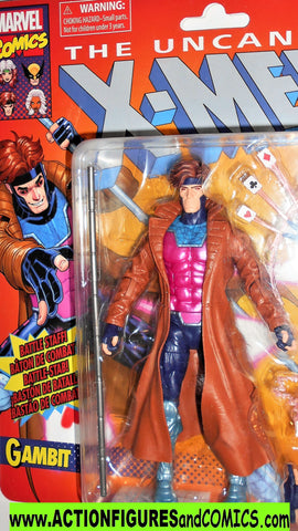 marvel legends GAMBIT Retro uncanny X-men universe toyiz moc