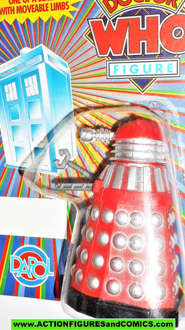 doctor who action figures DALEK dapol red silver CLAW arm Vintage moc #434