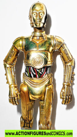 Star wars action figures C-3PO 30th anniversary commemorative tins