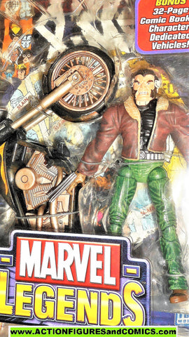 marvel legends WOLVERINE bike motorcycle cycle series 11 toy biz x-men logan moc