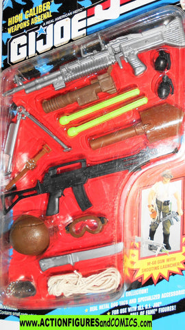 Gi joe 12 inch HIGH CALIBER weapons arsenal 1993 hall of fame moc