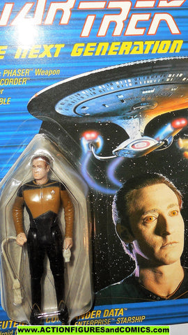 Star Trek DATA commander SPECKLE FACE variant 1988 galoob moc mip mib