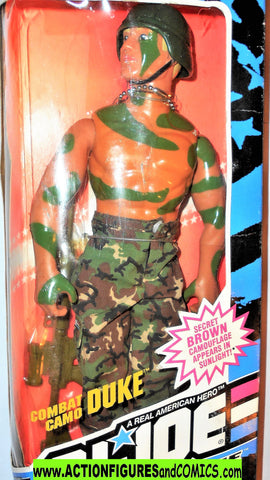 Gi joe 12 inch DUKE Combat Camo 1993 hall of fame mib moc