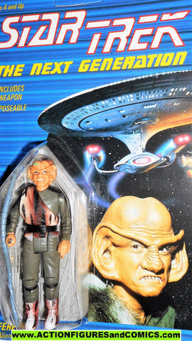 Star Trek FERENGI ALIEN 1988 galoob toys action figures moc