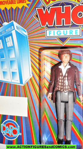 doctor who action figures FOURTH vintage Rainbow DAPOL Tom Baker 4th dr moc