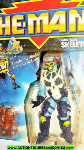 Masters of the Universe BATTLE BLADE SKELETOR 1990 vintage he-man moc