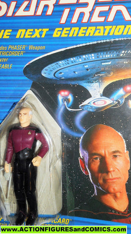 Star Trek CAPTAIN PICARD 1988 galoob toys action figures moc