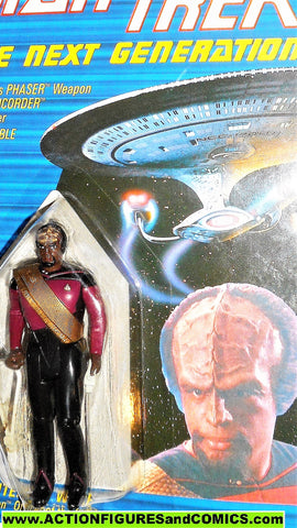 Star Trek WORF 1988 galoob toys action figures moc