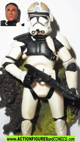 star wars action figures AT-TE TANK GUNNER 38 2005 revenge of the sith