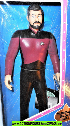 Star Trek COMMANDER RIKER 10 inch Enesco 1994 next generation moc mib