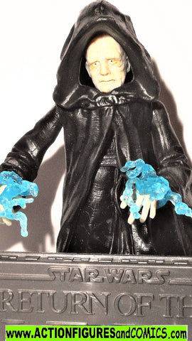 star wars action figures EMPEROR palpatine throne room 2006 saga