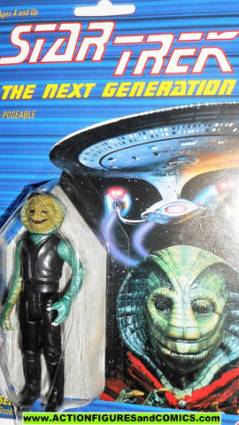 Star Trek SELAY Alien 1988 galoob toys action figures moc