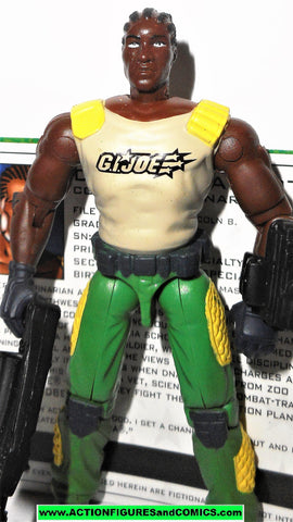 Gi joe DR LINK TALBOT 2005 V2 green pants valor vs venom VVV