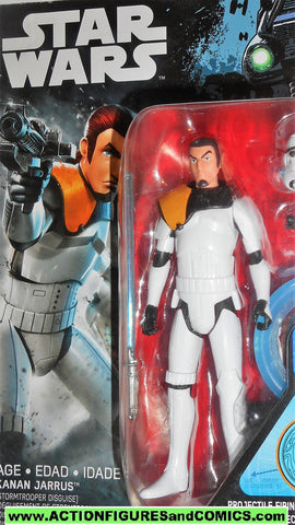 star wars action figures KANAN JARRUS SANDTROOPER rebels animated stormtrooper moc