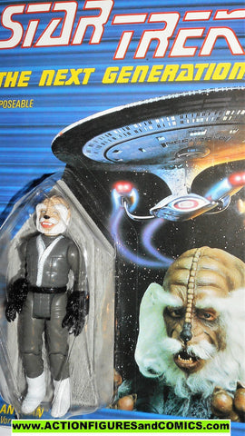 Star Trek ANTICAN ALIEN 1988 galoob moc mip mib