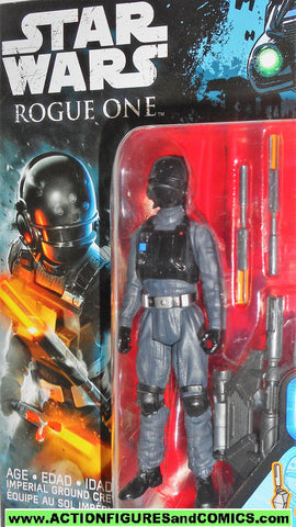 star wars action figures IMPERIAL GROUND CREW rogue one movie moc