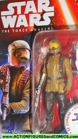 star wars action figures RESISTANCE TROOPER the force awakens movie moc