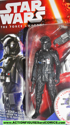 star wars action figures TIE FIGHTER PILOT the force awakens ORDER movie moc
