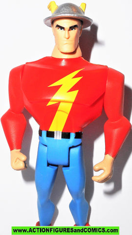 justice league unlimited FLASH jay garrick silver age golden dc universe