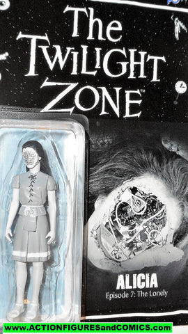 Twilight Zone ALICIA episode 7 The Lonely black white bif bang pow moc