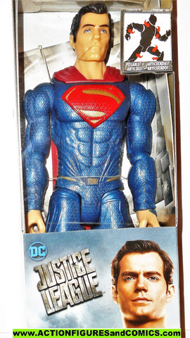 dc universe movie Justice League SUPERMAN 12 INCH classics mib moc