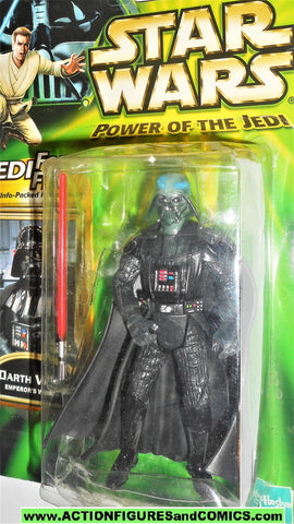 star wars action figures DARTH VADER DAGOBAH power of the jedi moc