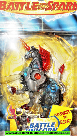 Transformers beast machines BATTLE UNICORN 1999 horse 2000 unicron moc