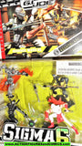 Gi joe BAT Snake eyes STORM SHADOW kamakura Mission Nightblade moc