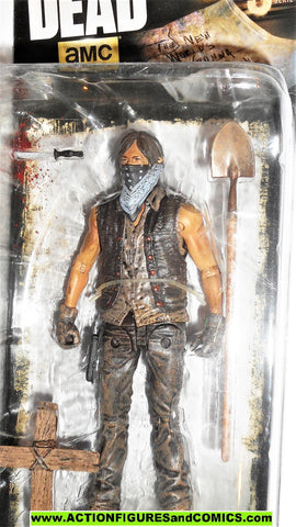 The Walking Dead DARYL DIXON GRAVE DIGGER series 9 mcfarlane toys moc