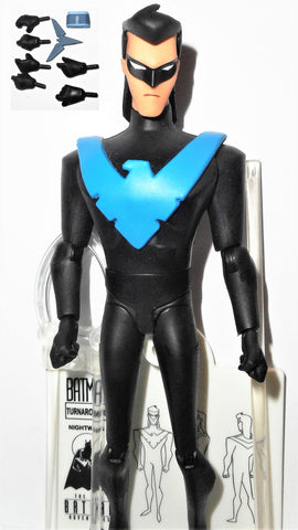 dc direct NIGHTWING Batman animated new adventures collectibles dc universe