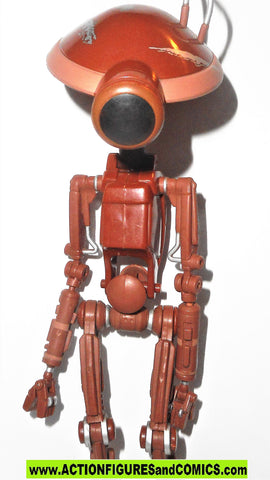 star wars action figures PIT DROIDS red 12 inch series 1999 episode I