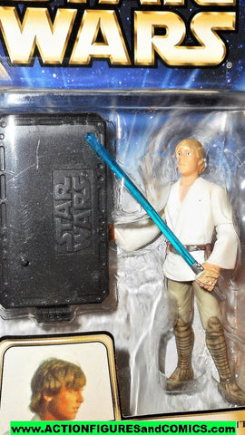 star wars action figures LUKE SKYWALKER hall of fame Tattooine encounter saga 2003 moc