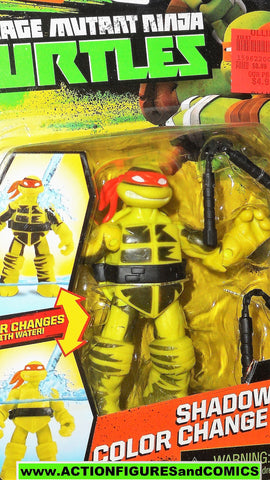 teenage mutant ninja turtles MICHELANGELO color change 2015 Nickelodeon playmates moc