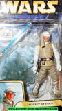 star wars action figures LUKE SKYWALKER hoth attack saga gear aotc 2003 moc