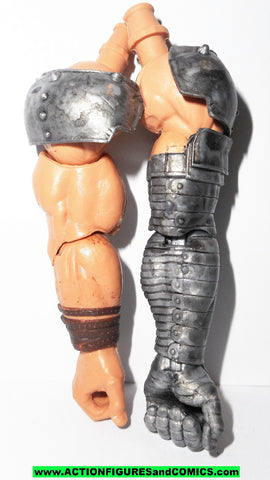marvel legends ODIN ALLFATHER LEFT RIGHT ARMS arm baf build a figure part