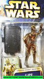 star wars action figures C-3PO hall of fame death star rescue saga 2003 moc