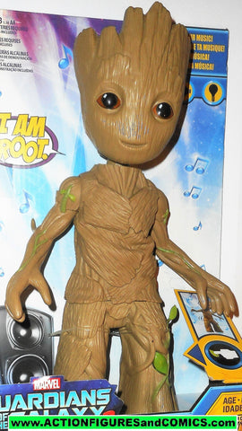 Marvel 12 inch electronic GROOT dancing baby universe moc mib